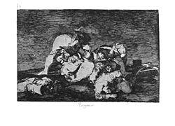 De verschrikkingen van de oorlog 1810 door francisco de goya