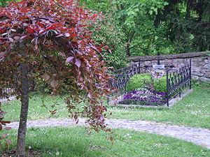 Slava Raškaj - Slava Raškaj's grave in Ozalj