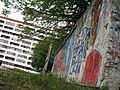 Graffiti near Atlant stadium & Budaŭnikoŭ square in Navapolack - panoramio.jpg