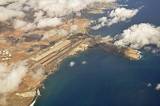 international airport serving Gran Canaria, Canary Islands, Spain