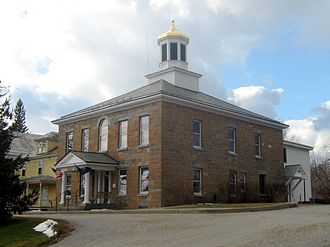 Grand Isle County, Vermont - Image: Grand Isle County Courthouse 01