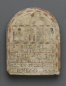 Grave Stela of Nehemes-Ra-tawy, ca. 760-656 B.C.E. ,37.588E