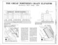 Great Northern Elevator, 250 Ganson Street, Buffalo, Erie County, NY HAER NY,15-BUF,32- (sheet 1 of 2).png