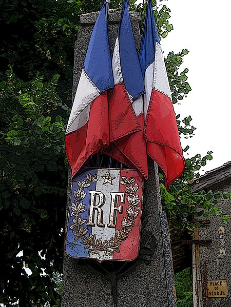 Great War Monument, Saint Martory, France