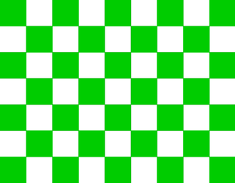 NASCAR rules and regulations - Green and White Checkered Flag