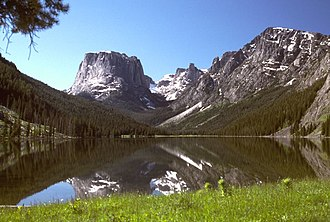 Wind River Range - Green River Lakes and Squaretop Mountain