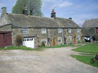 Dungworth village in United Kingdom