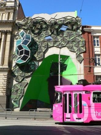 Storey Hall - Image: Green building swanston street melbourne