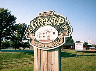 "Greenup, Illinois - ""Village of the Porches"""