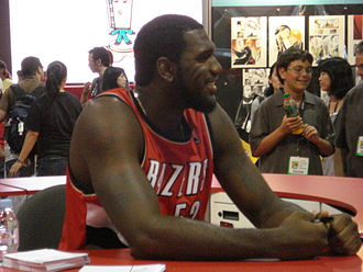 Greg Oden - Oden at the 2008 San Diego Comic-Con
