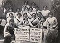 Group of Striking Fur Girls at Picnic, USA 1912.jpg