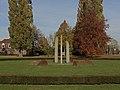 Grubbenvorst, sculptuur bij de rotonde aan de Kloosterstraat foto8 2015-11-02 12.01.jpg