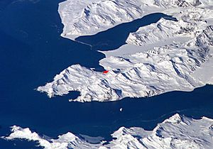 King Edward Point - Thatcher Peninsula with King Edward Point and Grytviken