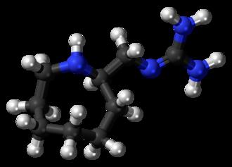 Guanazodine - Image: Guanazodine 3D ball
