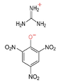 Guanidine picrate.png