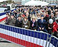 Guests attend the commissioning ceremony of USS Illinois (SSN 786) (30559598071).jpg