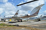 Gulfstream II-B 'N148V' (40290582391).jpg