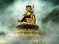 Guruo Rinpoche en nebulo 2.jpg