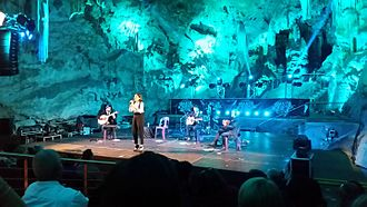 Carminho - Carminho performing in St Michael's Cave