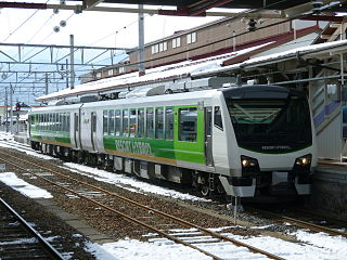 HB-E300 series Japanese train type
