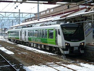 Hybrid vehicle - East Japan Railway Company HB-E300 series