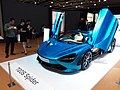 HKCEC 香港會議展覽中心 Wan Chai 蘇富比 Sotheby's Auction preview exhibition 麥華倫 Mclaren race car 720S Spider blue March 2019 SSG 07.jpg