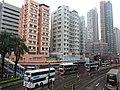 HK 元朗 Yuen Long 青山公路 Castle Peak Road On Lok Fung Yau Road building facades Sep 2016 DSC.jpg