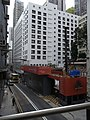HK Mid-levels 中環堅道 Caine Road footbridge view construction site 瑧環 Gramercy September 2010.JPG