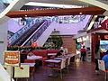 HK Ngau Tau Kok 淘大商場 Amoy Plaza escalators Riso restaurant interior May-2012.JPG