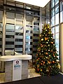 HK Shek Tong Tsui 香港今旅 Hotel Jen interior Xmas tree Dec-2015 DSC.JPG