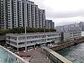 HK TST 尖沙咀東海濱 Tsim Sha Tsui East Waterfront Promenade 梳士巴利道 Salisbury Road footbridge view 紅磡 Hung Hom 維多利亞海 Victoria Harbour March 2020 SS2 04.jpg