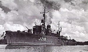 HMAS Kapunda - HMAS Kapunda