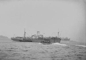 HMS Empire Battleaxe - Image: HMS Donovan (F161)