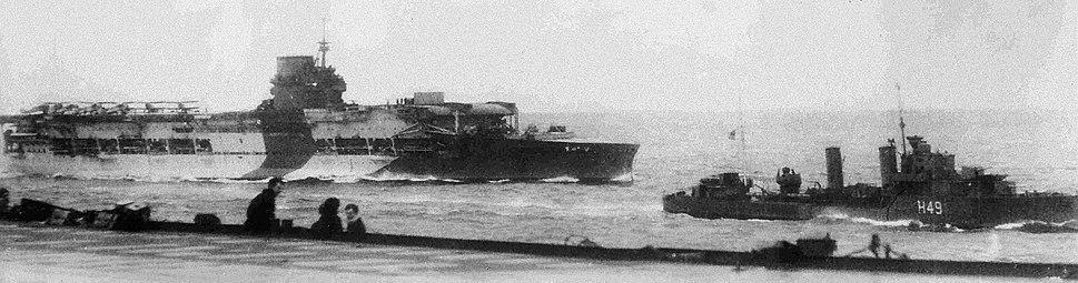 HMS Glorious last picture
