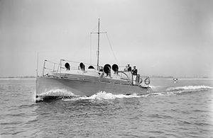 HMS Mercury (shore establishment) - Image: HMS Mercury II launch