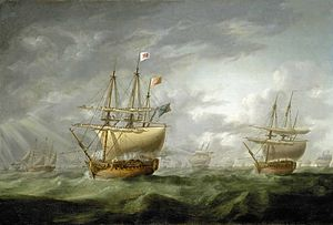 Ramillies-class ship of the line - Image: HMS Ramillies in 1782