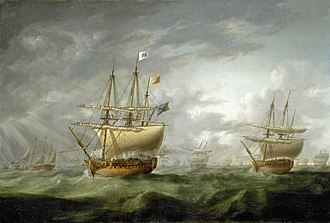 HMS Ramillies (1763) - Image: HMS Ramillies in 1782
