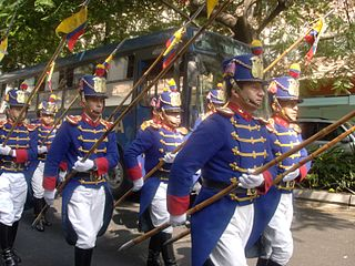 Granaderos de Tarqui President of Ecuadors honour guard