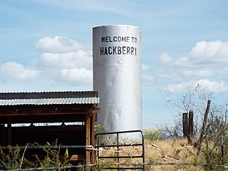 Hackberry, Arizona Unincorporated community in Arizona, United States