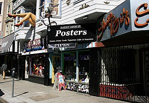 Haight-Ashbury - Storefronts on Haight Street