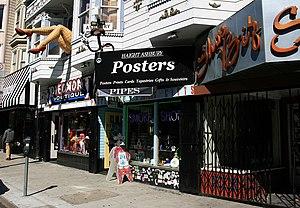 Haight-Ashbury - Storefronts on Haight Street