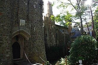 Hammond Castle - Image: Hammond castle front