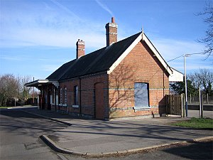 Hamworthy railway station - Station building
