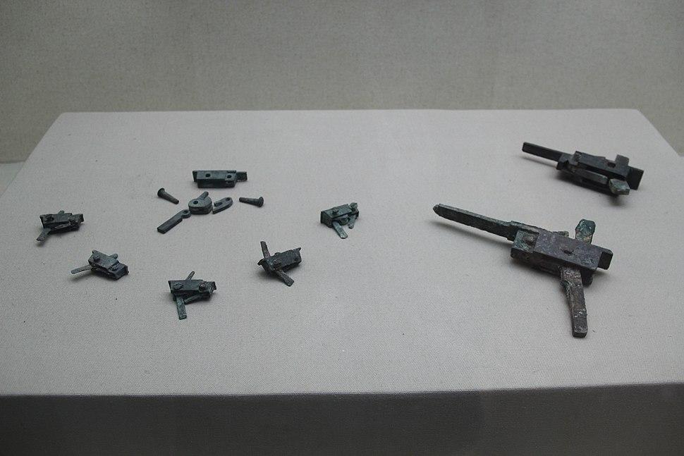 Han crossbow trigger mechanism