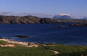Handa, Scotland - Quinag and Scourie across the Sound of Handa