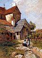 Hans Bulhardt - Biserica cetate din Cisnadioara.jpg