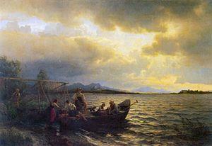 Hans Gude - Fra Chiemsee - 1868.jpg