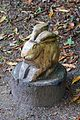 Hare sculpture, Hare Hill, Cheshire 1.jpg