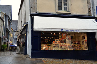 Harmonia Mundi - A Harmonia Mundi retail outlet in Quimper, France