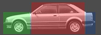 Notchback - Image: Hatchback three box